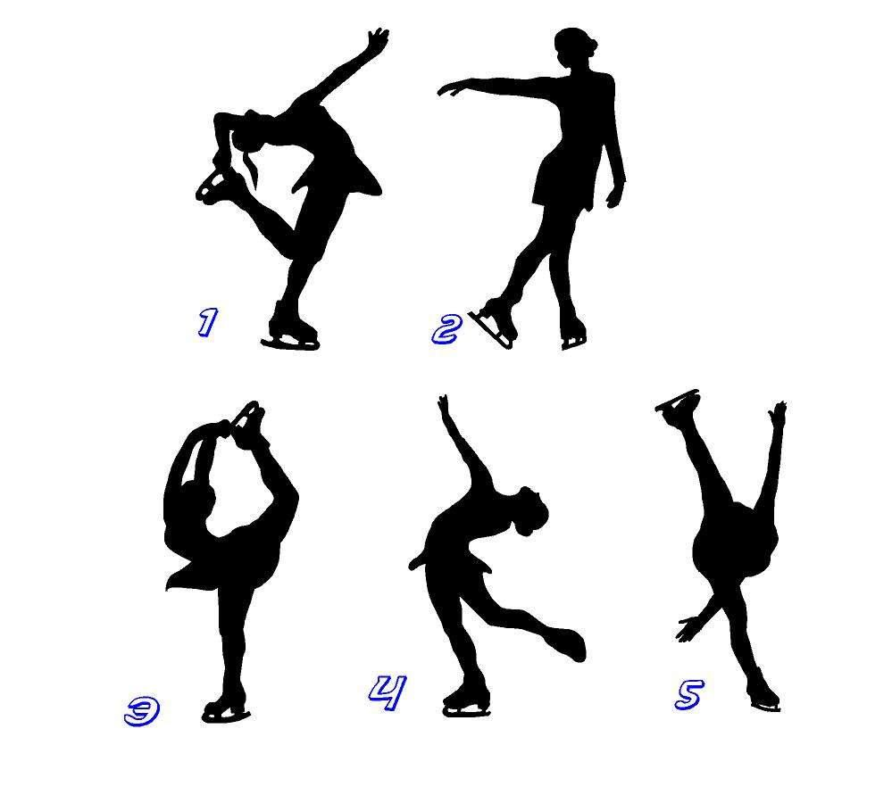 Figure skater decals ice skating decals car decals vehicle