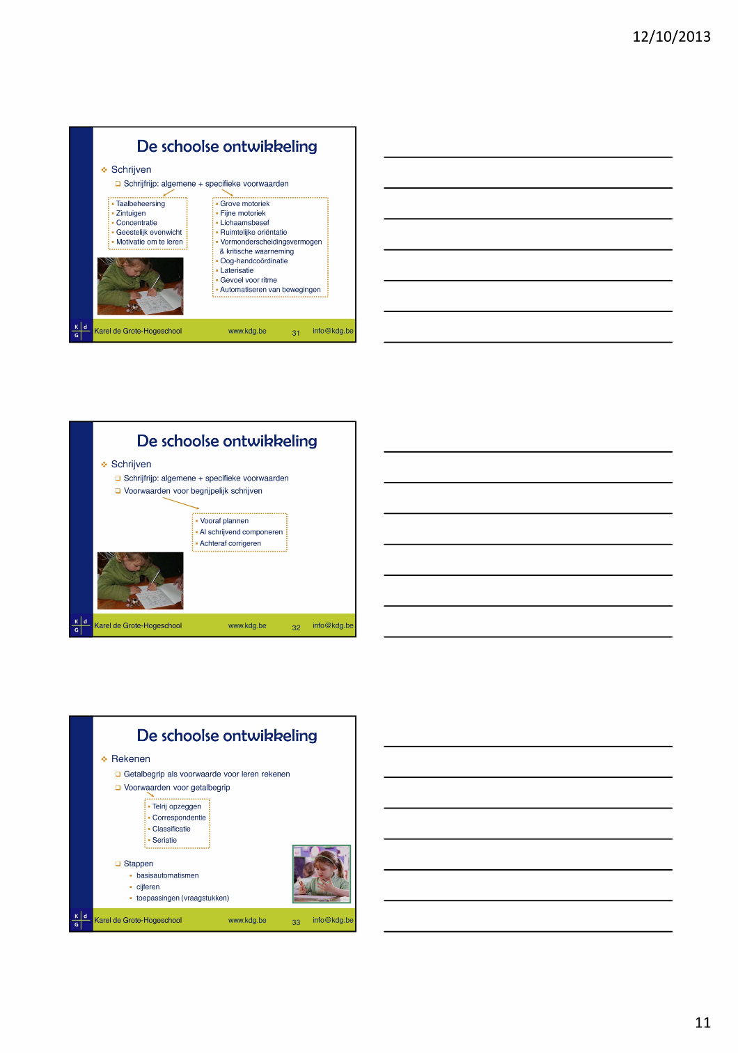 Informatie ontwikkeling lagerschoolkind 7tot 10 jaar (11/13)