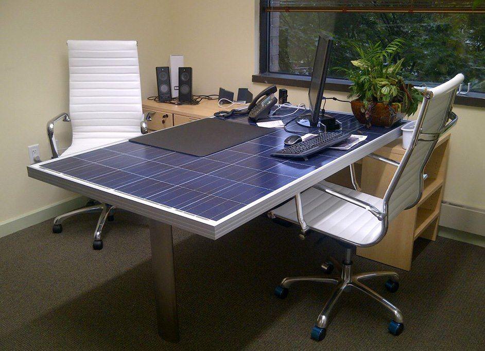 Solar Panel Desk Solar Products I Love Pinterest