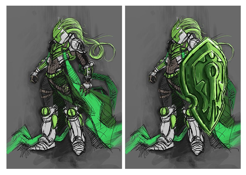 Green Knight concept