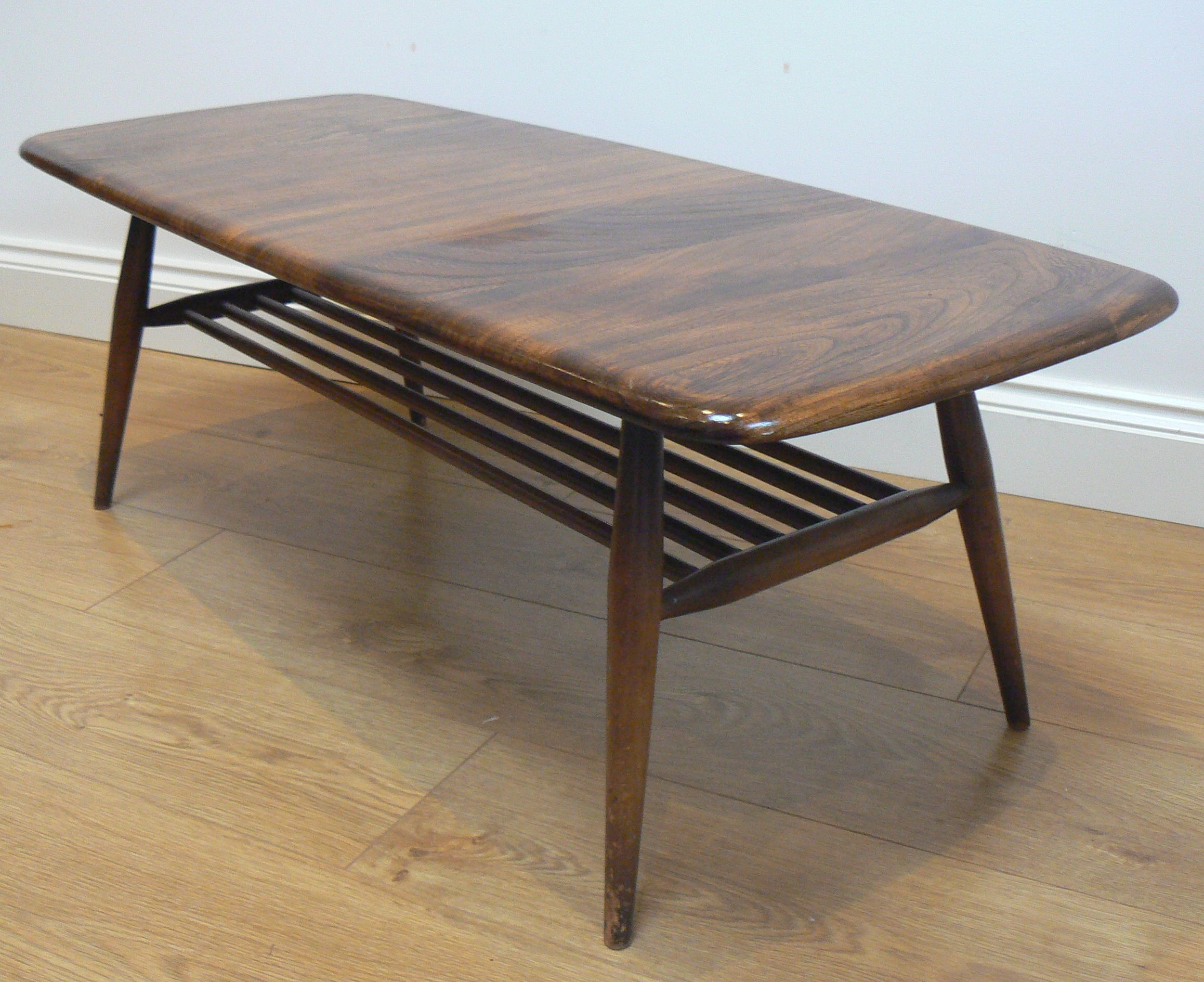 1960s Ercol coffee table
