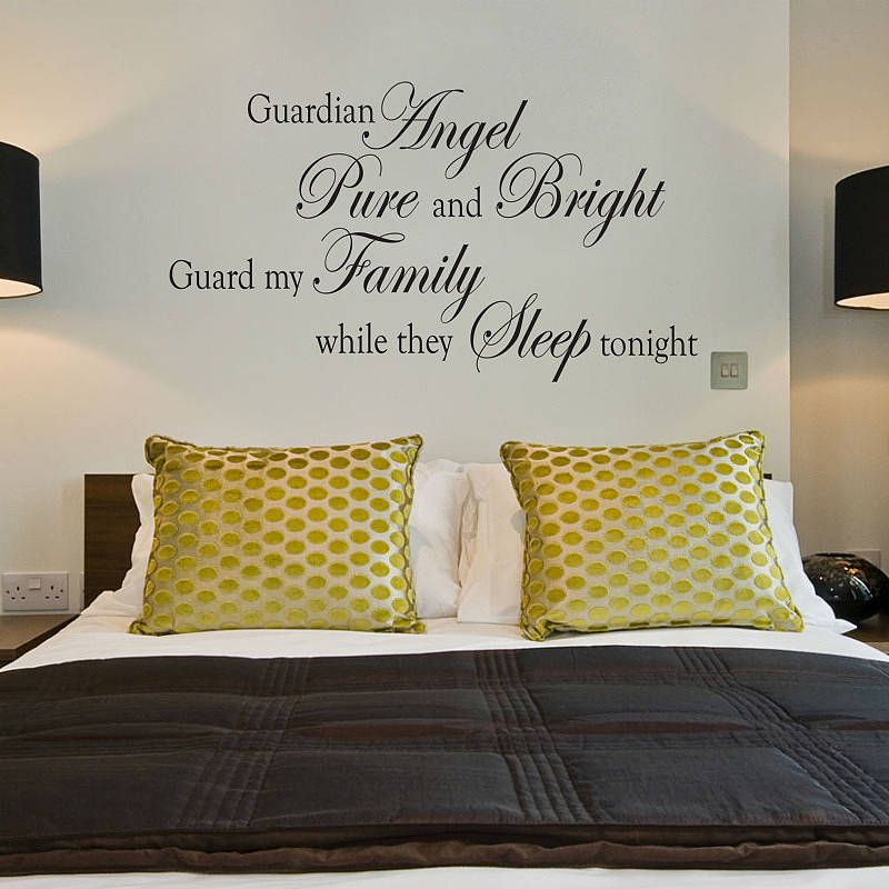 Awesome The Wall Stickers For Bedroom Quotes Up There Is Used Allow The Decoration  Of Your Home Part 15