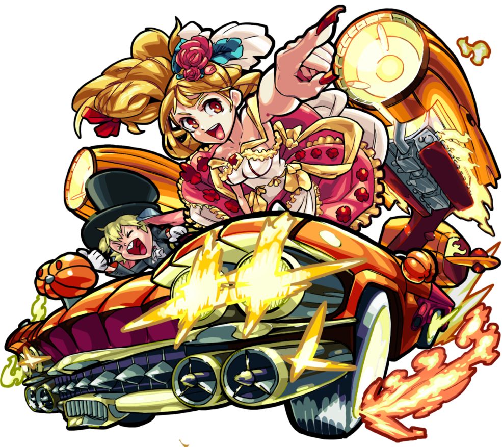 Cinderella Monster strike, Cinderella, Anime