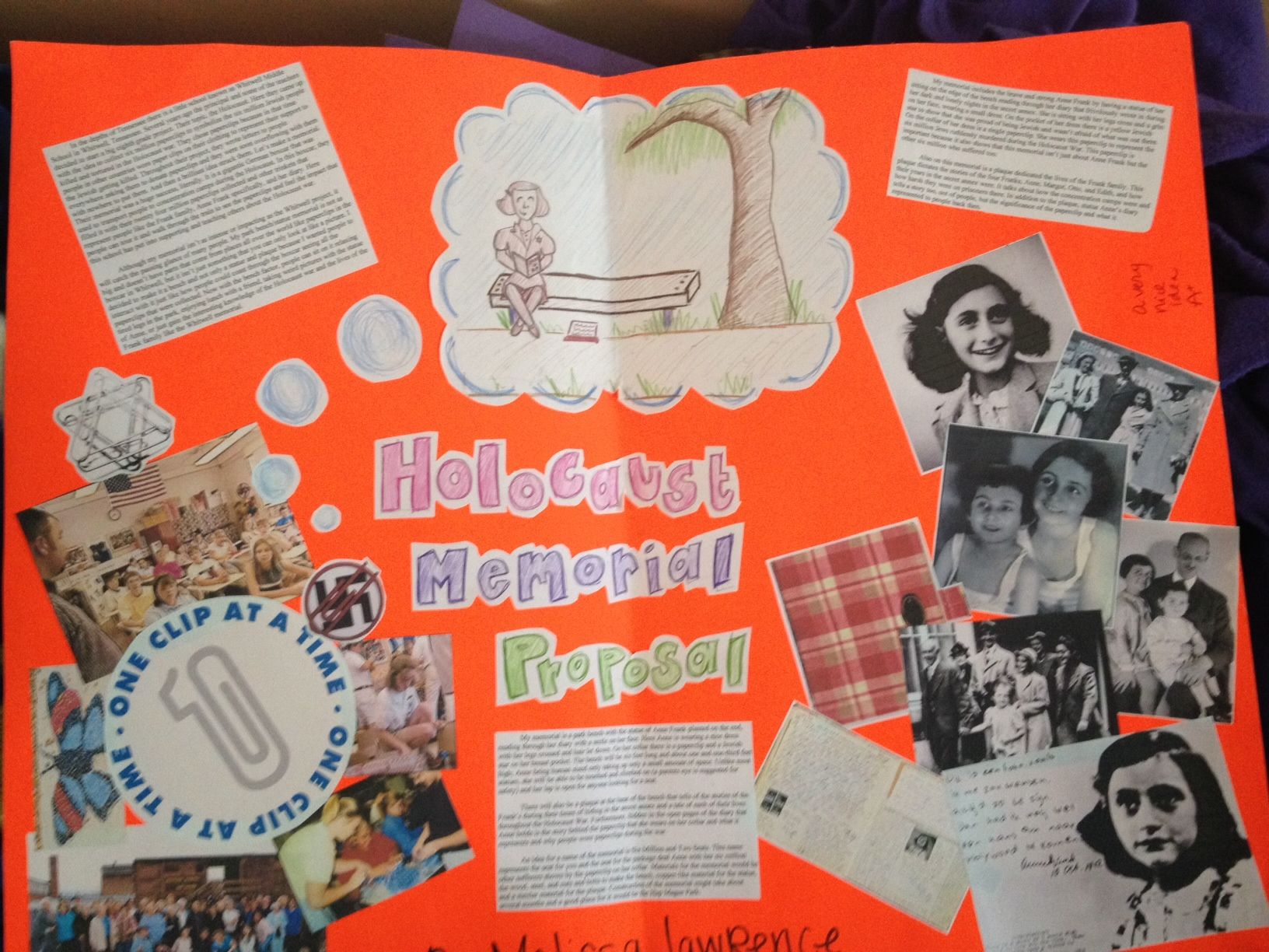 final project for the diary of anne frank the o jays anne frank holocaust diary of anne frank memorial project