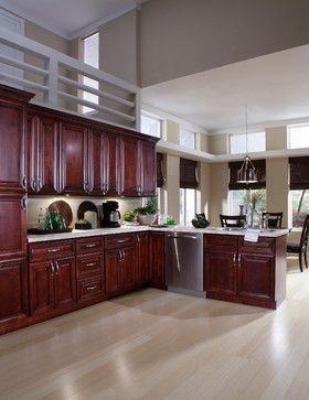 Best B Jorgsen Co St James Mahogany Kitchen Cabinets 640 x 480