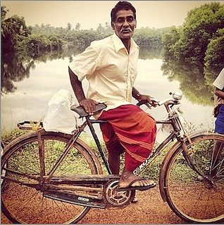 man on a bike, Tangalle, Southern Province, Sri Lanka (www.secretlanka.com)