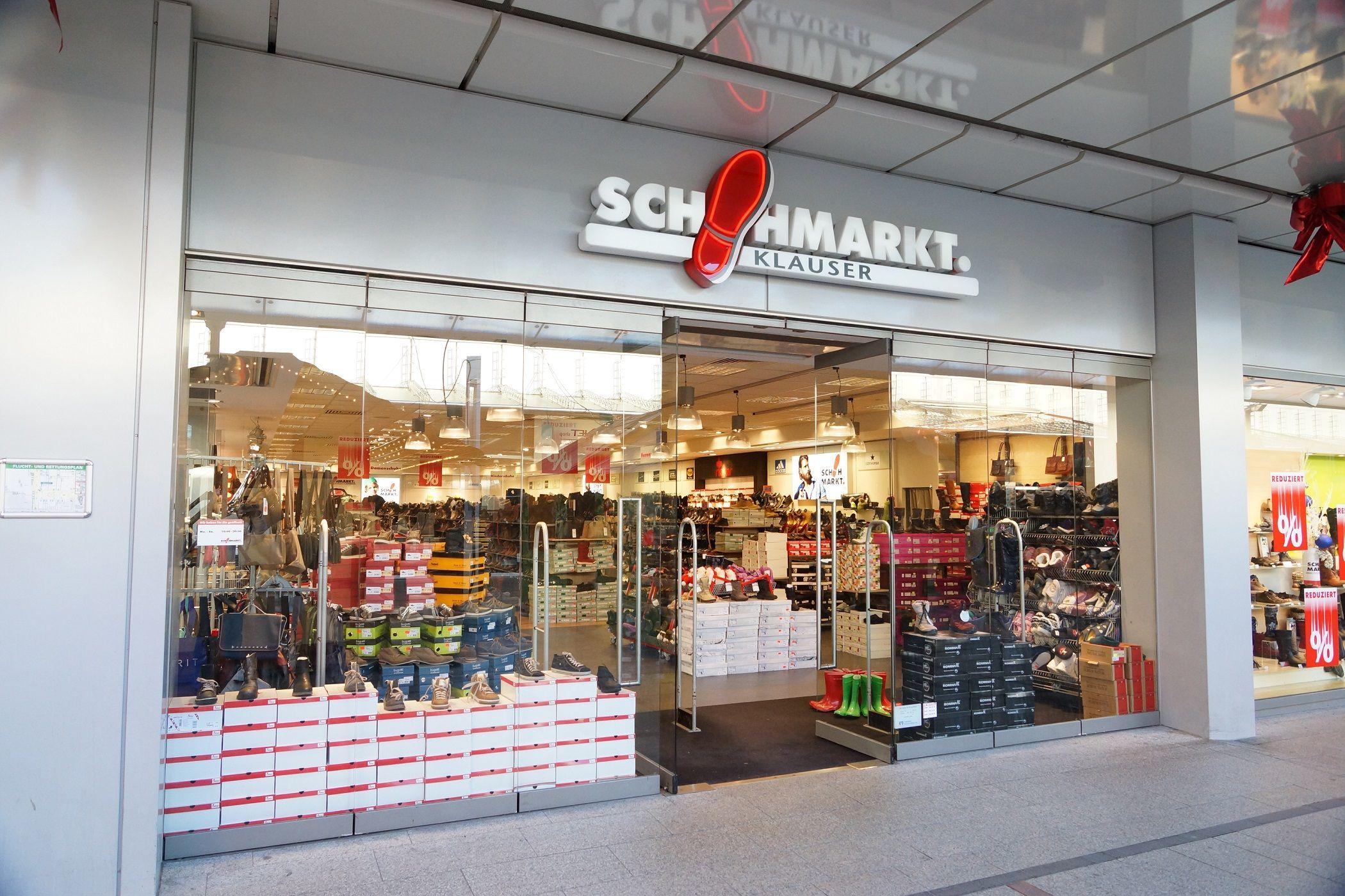 low priced 7164f 65899 Klauser Schuhmarkt - Branche: Taschen, Schuhe & Accessoires ...