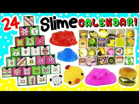 I Am Going To Ask For This From Meher Diy Slime Advent Calendar