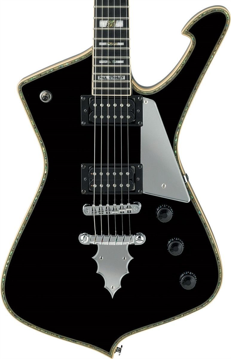 Ibanez PS120BK Paul Stanley Signature Electric Guitar - Standard ...