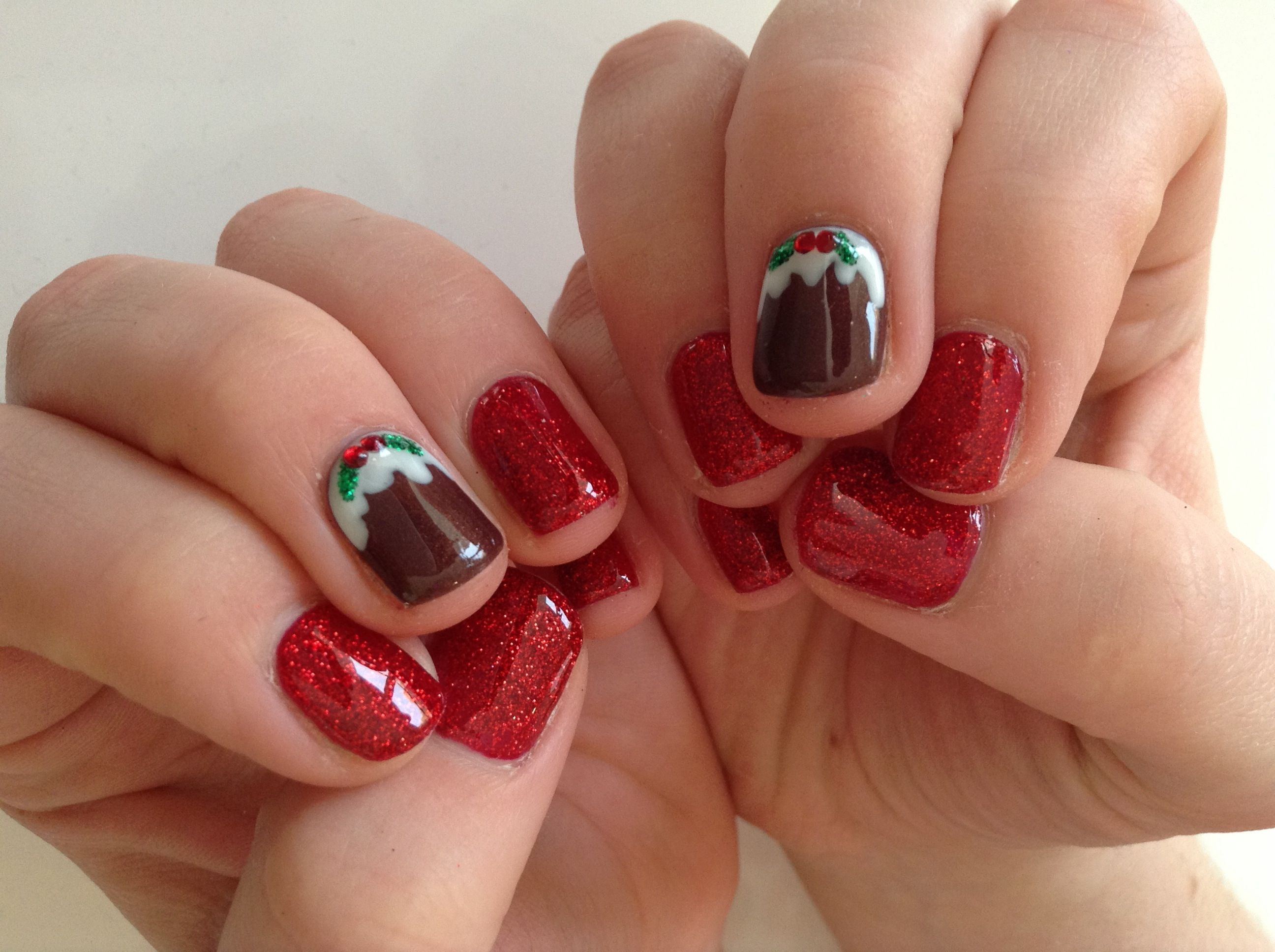 Christmas nails | Holidays & Special Occasions | Pinterest | Nail ...