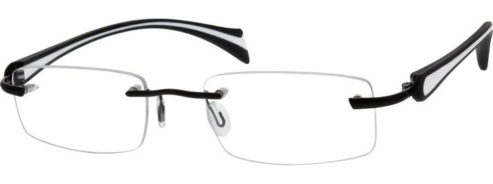 6735 Rimless Metal Alloy Frame with Flexible Plastic Temples Frame-vKr2Ta1I