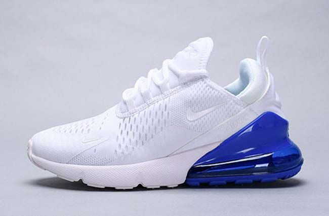 AIR MAX 270 Sneakers laag whitelime blastphoto blue
