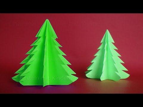 Kerst Ideetjes Knutselen Kerstboom Knutselen Van Papier