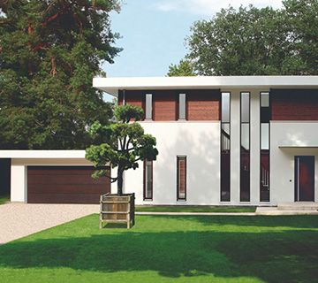 luxus fertighaus bauhausvilla haus random pinterest luxus fertighaus fertigh user und. Black Bedroom Furniture Sets. Home Design Ideas
