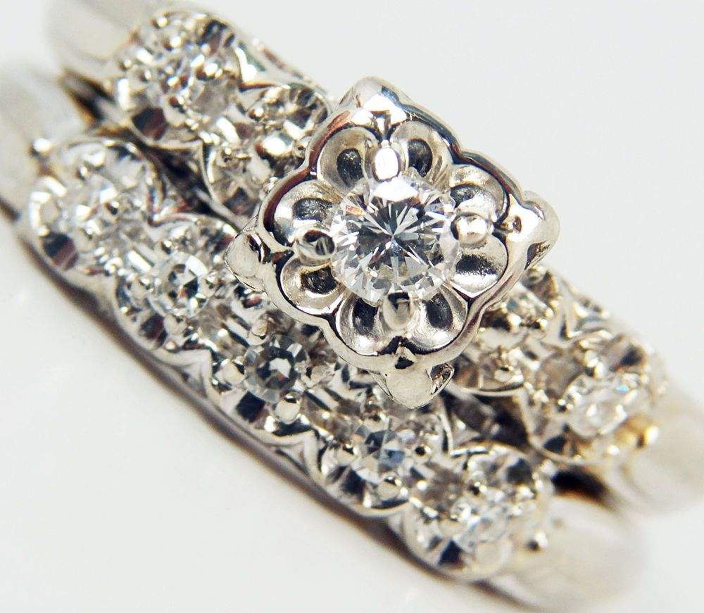 The Perfect 1940's'50's Traditional Style Wedding Ring