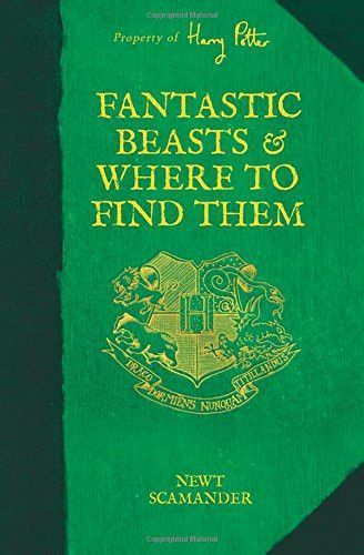 Fantastic Beasts And Where To Find Them Harry Potter Hardcover