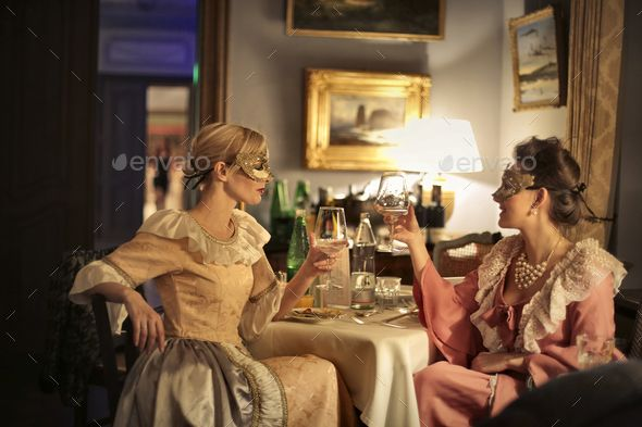 Download Free Graphicriver              Friends at a party            #antique #atmosphere #carnival #caucasian #color #costume #dinner #disguise #drink #eat #food #friend #fun #glass #happiness #home #joy #luxury #mask #night #nightlife #old #party #profile #retro #rich #smile #style #table #toast #venetian #vintage #white #wine #woman #young