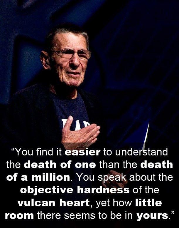 Leonard Nimoy Quotes Amusing Adminajax 1  My Favorite Quotes  Pinterest  Spock Quotes