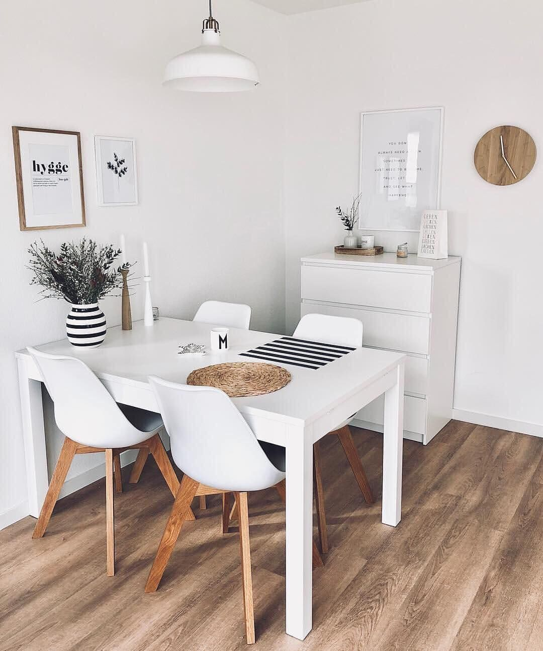 Salones Comedores Decoracion White And Wood Maikii88 Mywestwingstyle Westwing