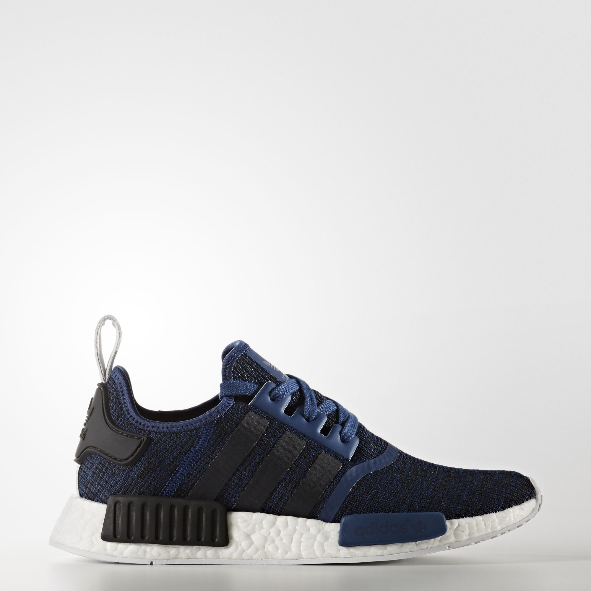 e455265a9 adidas - NMD R1 Shoes Mystery Blue Core Black Collegiate Navy BY2775 ...