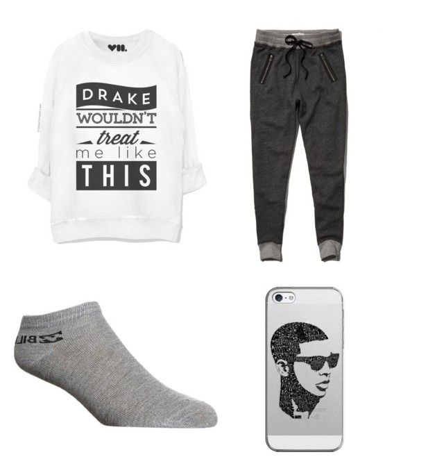 """Lazy"" by thaliaaviles on Polyvore featuring Abercrombie & Fitch, Billabong and Casetify"