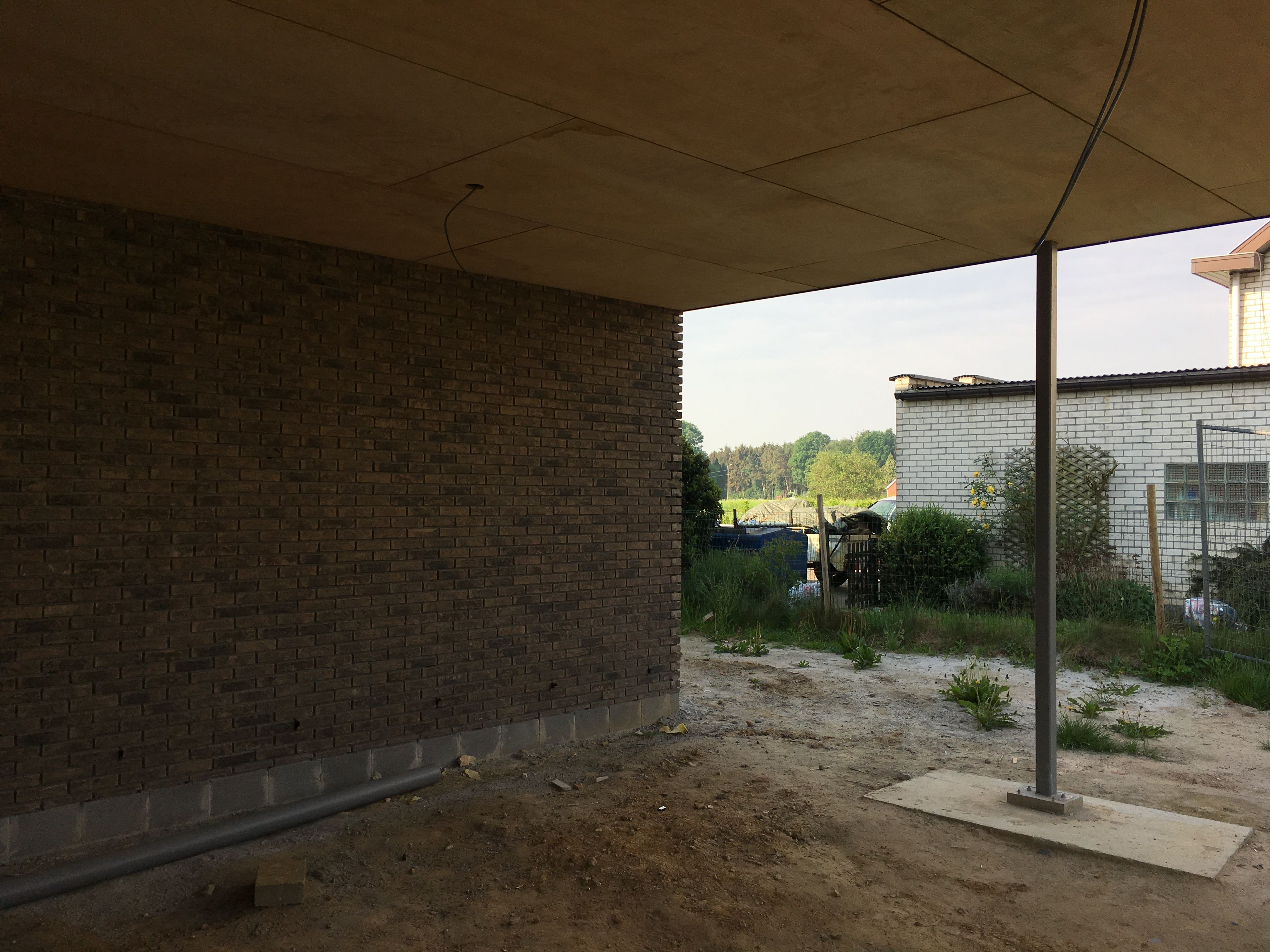 Uitbekleding plafond carport in multiplex 1633CAMB stam.be ...