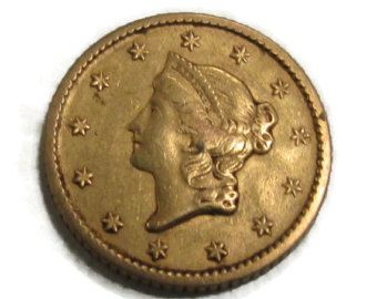 Gold Coin On Etsy A Global Handmade And Vintage Marketplace Coins Gold Coins Buy Gold And Silver