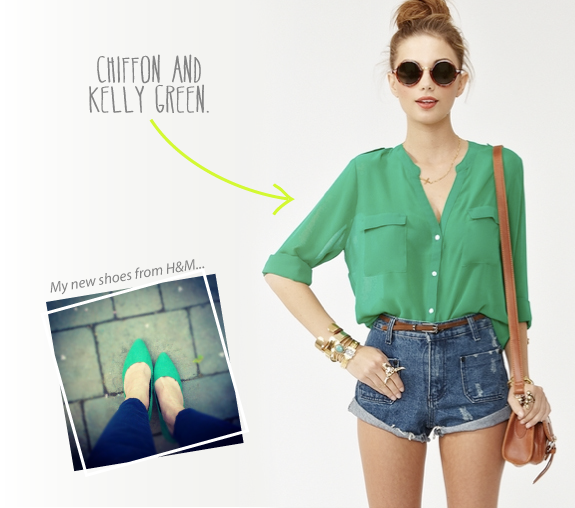 Spring Trend: Kelly Green | Say Yes to Hoboken