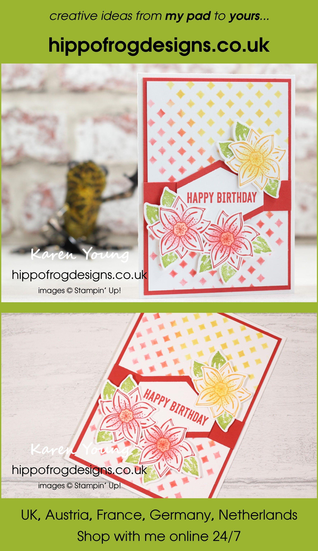 Bright Birthday Card | SU - Pop of Petals Bundle (2018-2019