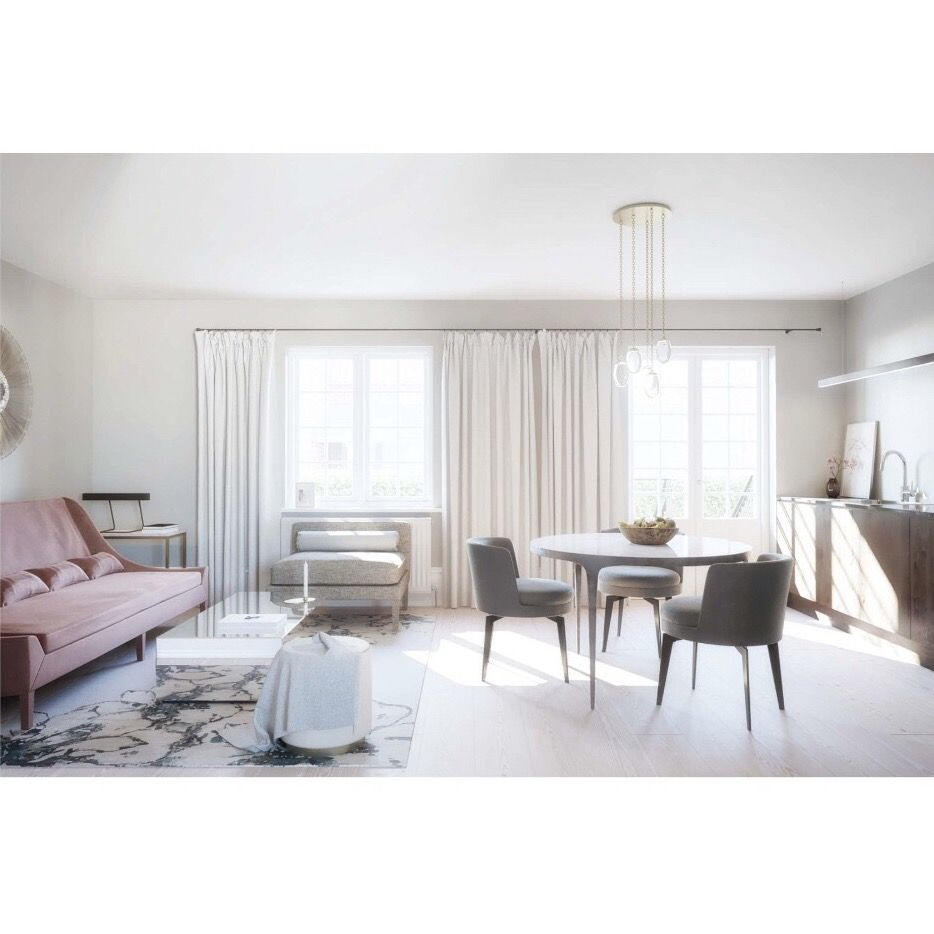 Luxurious living room designed by Cph Decor, Josefine Roth. Boutique ...