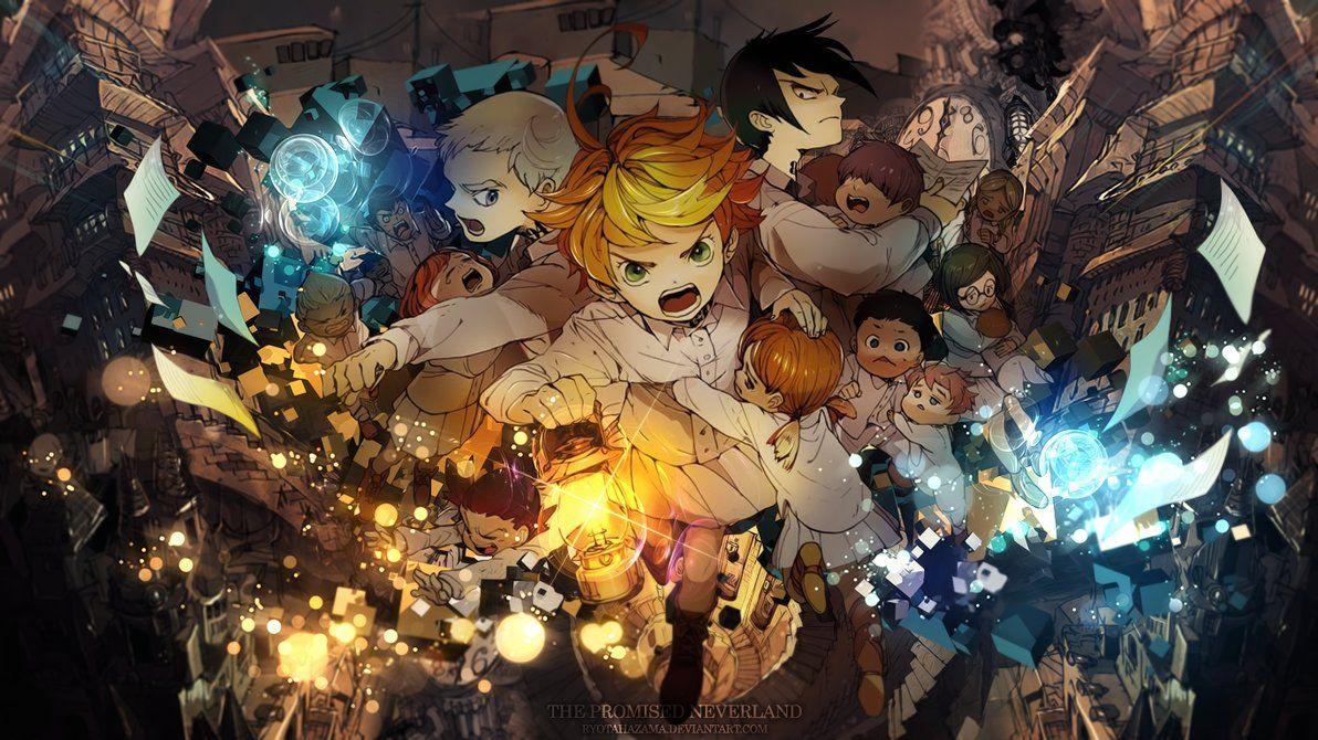 The Promised everland Neverland, Anime, Neverland art
