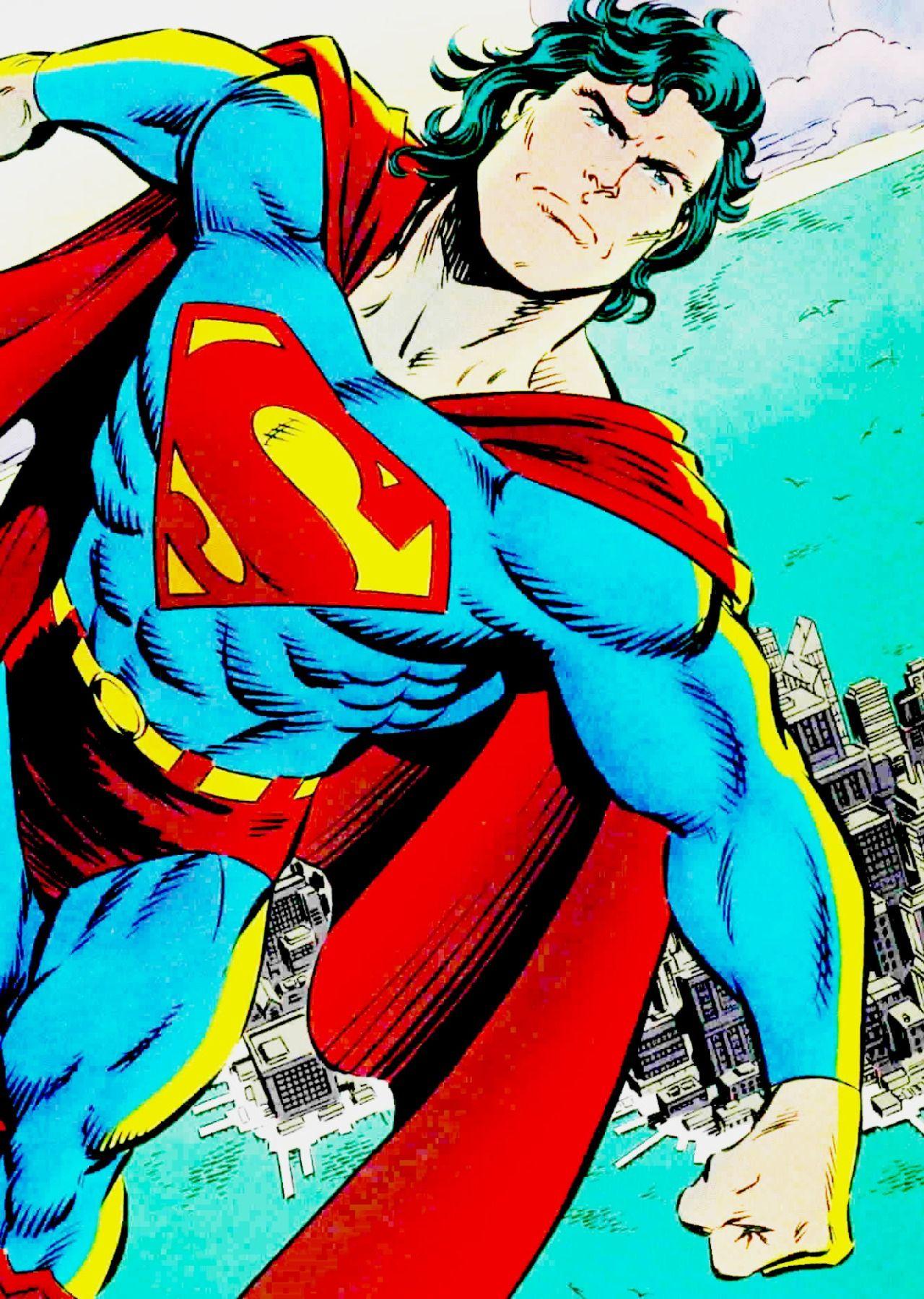 Superman By Tom Grummett & Doug Hazlewood