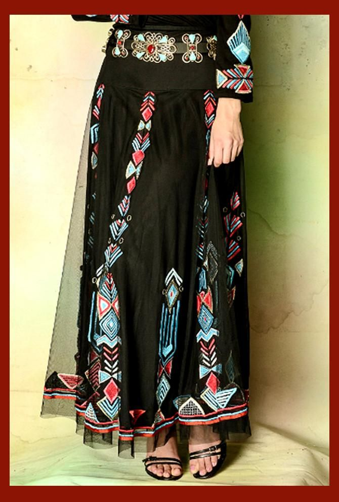 Vintage Collection Native Long Skirt Collectible Native American Dress 80c089e5c03