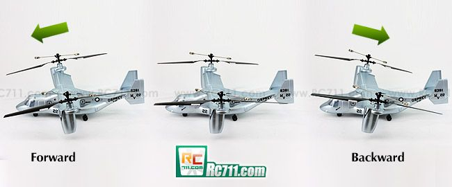 V22 Osprey Specifications: ☆ Rotor diameter: 350mm/13.78in ☆ Length: 390mm