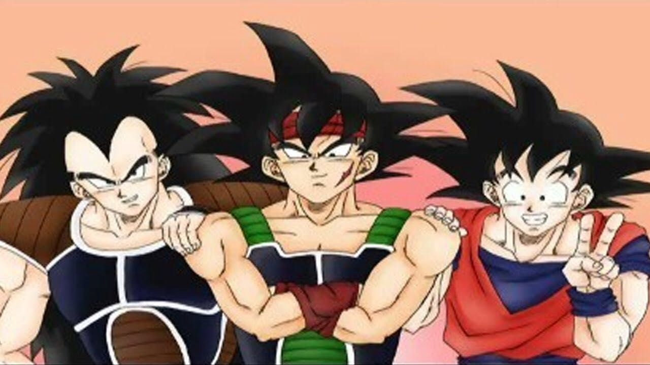 does bardock ever meet gohan and goku