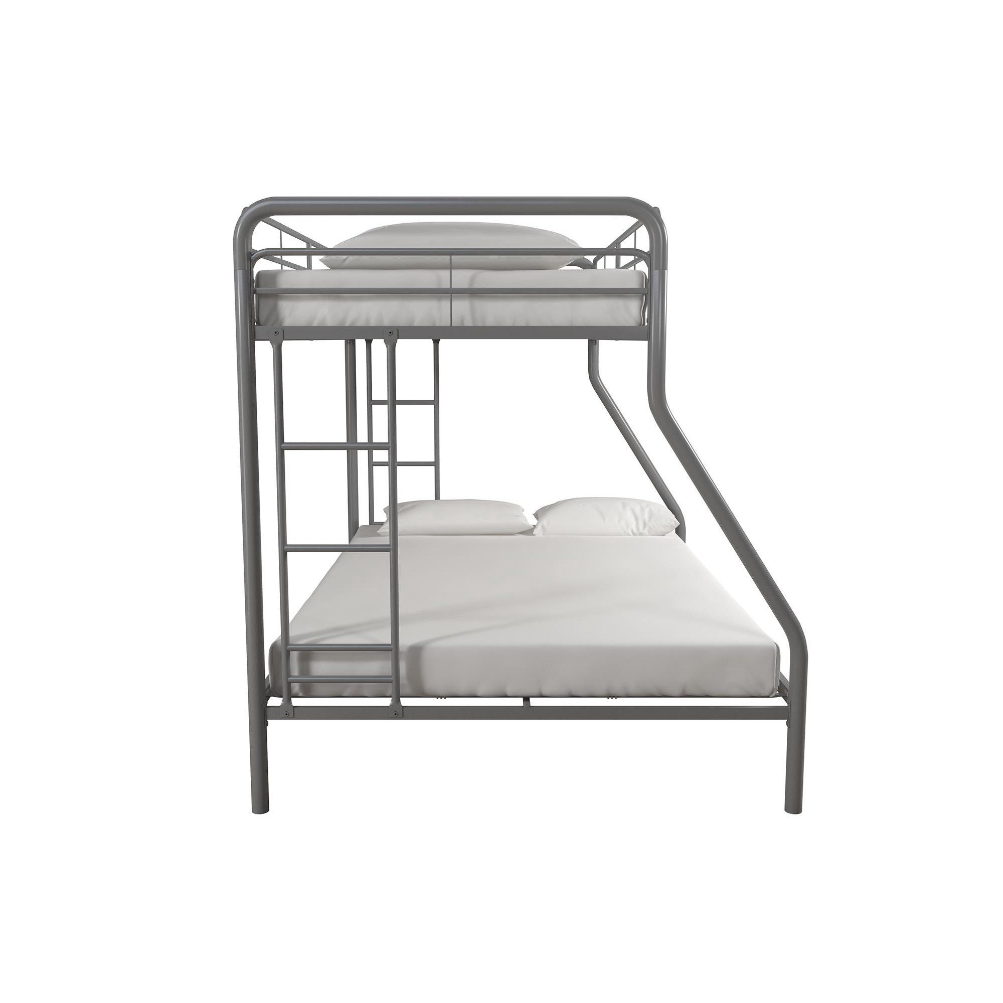 Dhp Twin Over Full Metal Bunk Bed Frame Multiple Colors Walmart Com Beds