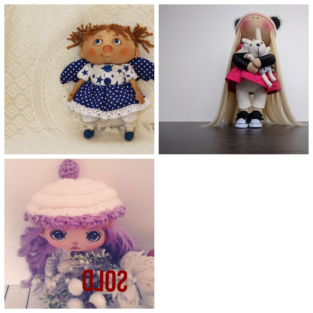dolls upcycled