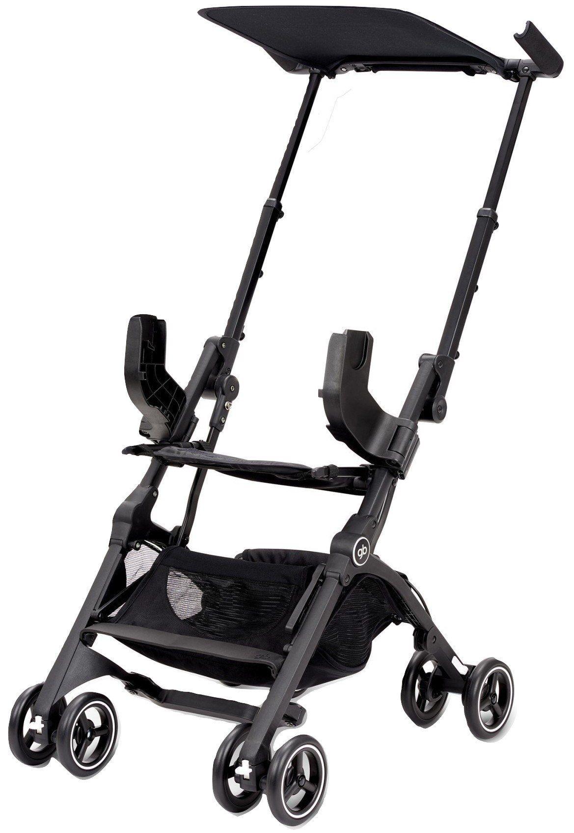 GB Pockit Go (Satin Black) parents baby stroller pram
