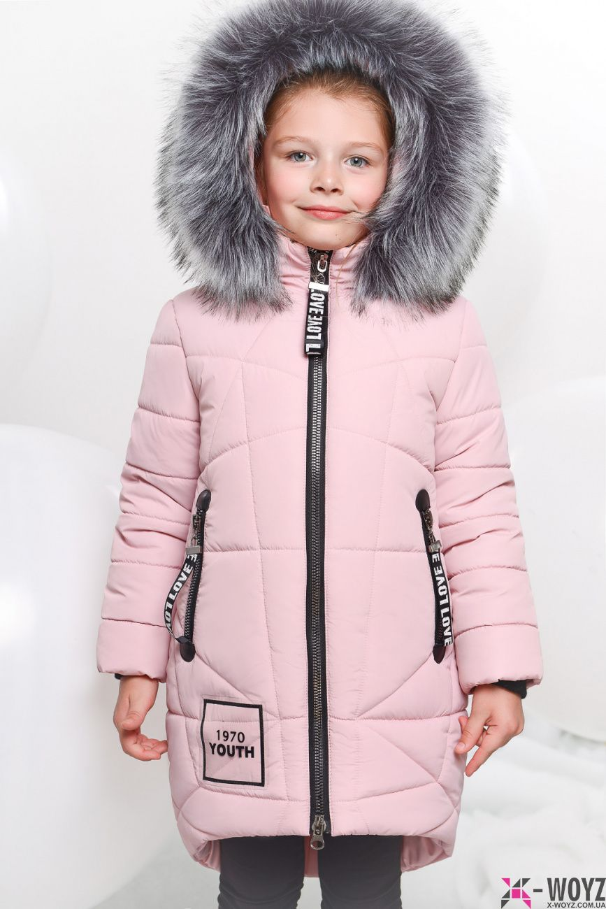 e4a013e78e78 Детская зимняя куртка X-Woyz DT-8258-10 купить оптом по цене от 1 ...