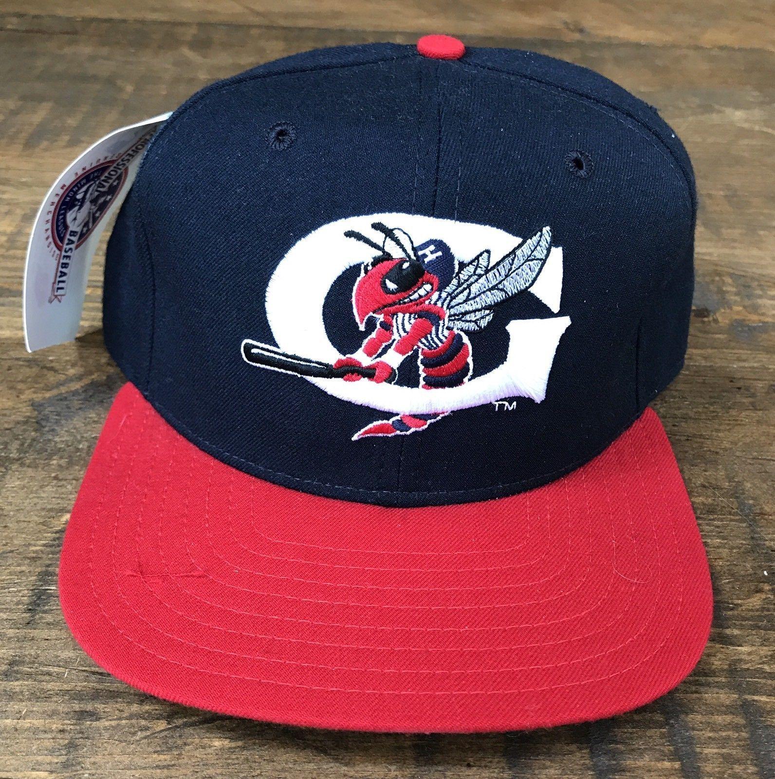 Vintage NEW NWT Greensboro Hornets New Era Snapback Hat Cap 90s Derek Jeter   8b95f6b1e97