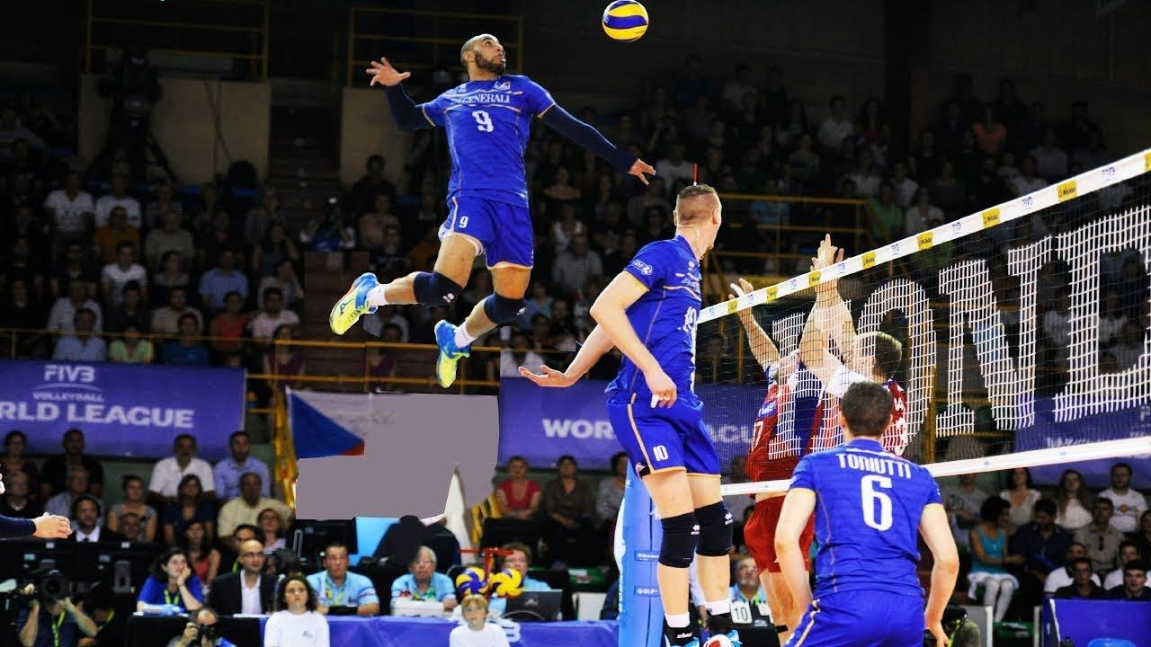Earvin N Gapeth Craziest Player In Volleyball History Hd Youtube Volleyball History History Hd Volleyball