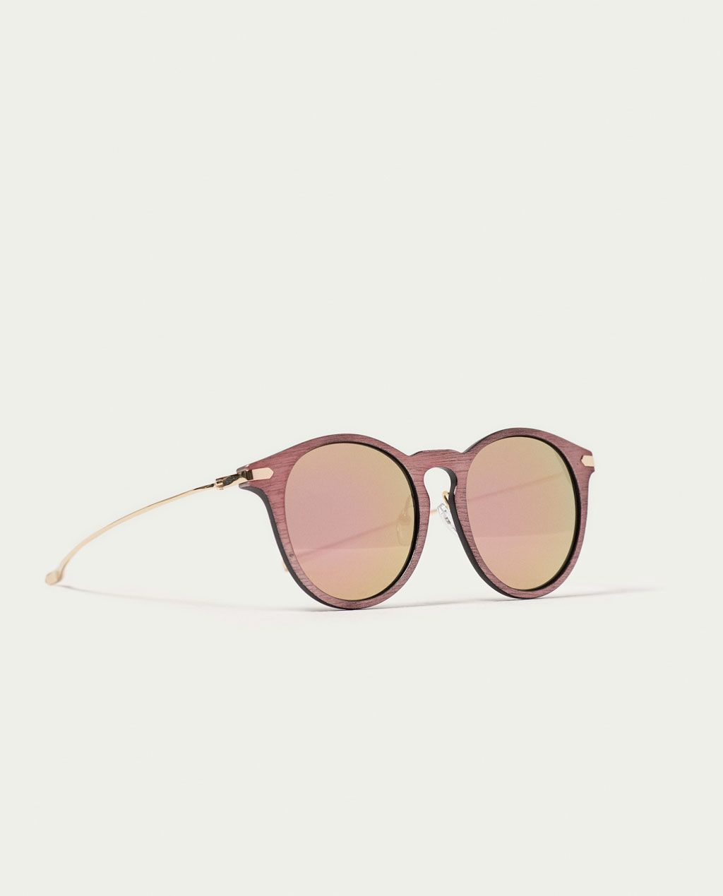 Image 1 Of Mirror Effect Crystal Glasses From Zara Womens Glasses Glasses Sunglasses Sale