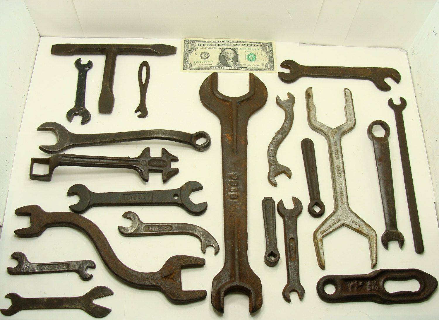 Big Old Wrench Lot Farm Tractor Tools International Harvester