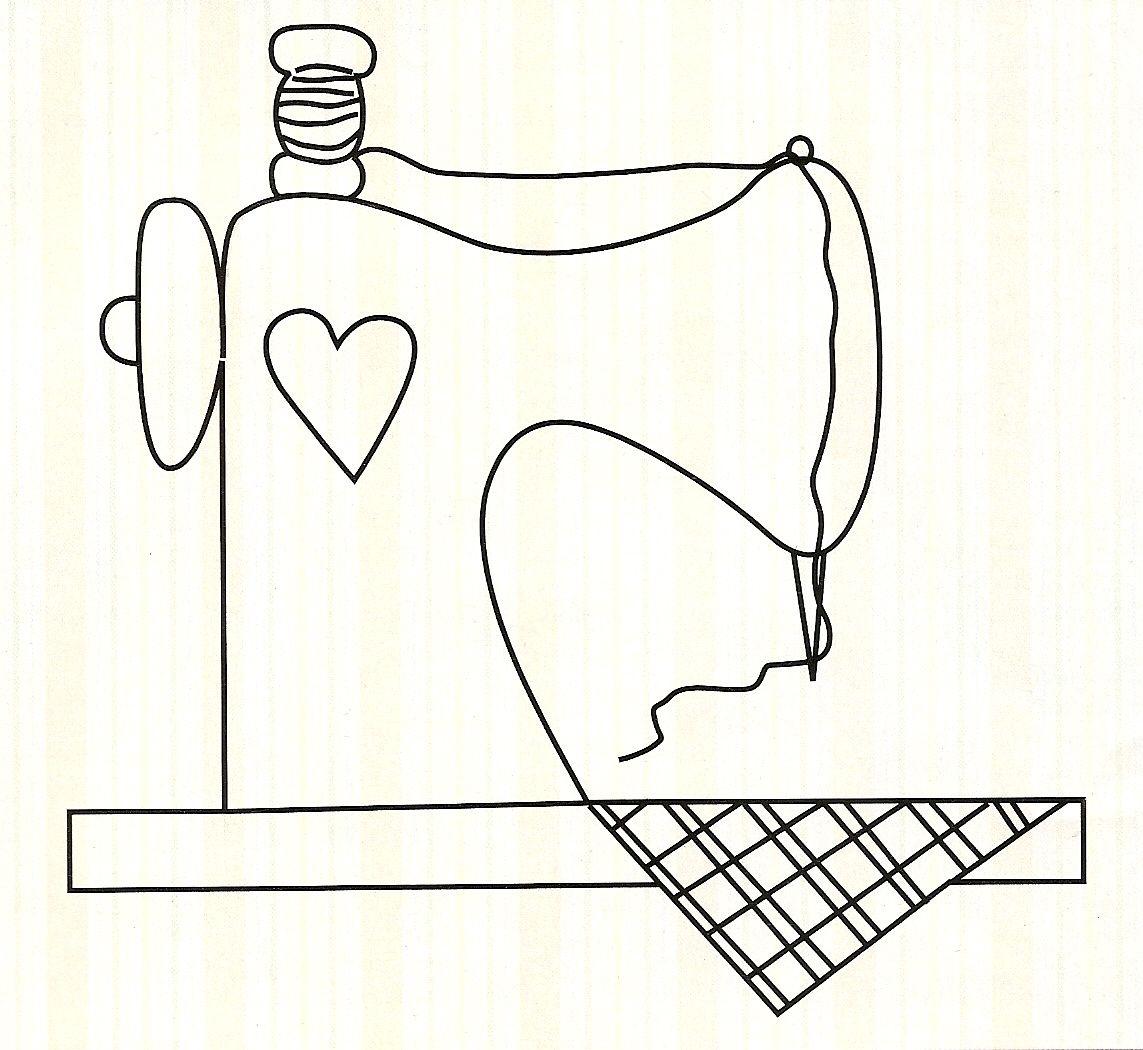 máquina de costura | imagenes patchwork | Pinterest