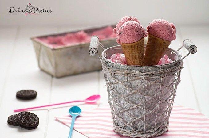 Helado casero de ciruelas sin necesidad de usar heladera. Receta de helado casero con fruta de temporada, sabor y textura irresistibles. Lo mejor del verano