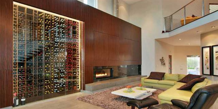 find this pin and more on z serene home - Home Wine Cellar Design Ideas