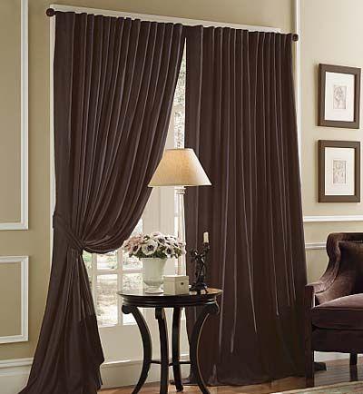 Dark Brown Curtains 10 Dark Curtain Designs Ideas For Decorating