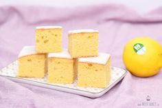 Saftiger Zitronenkuchen vom Blech #rührteiggrundrezept
