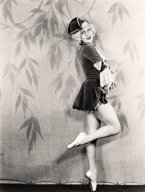 Great-aunt of actress Drew Barrymore and a former Ziegfeld Follies
