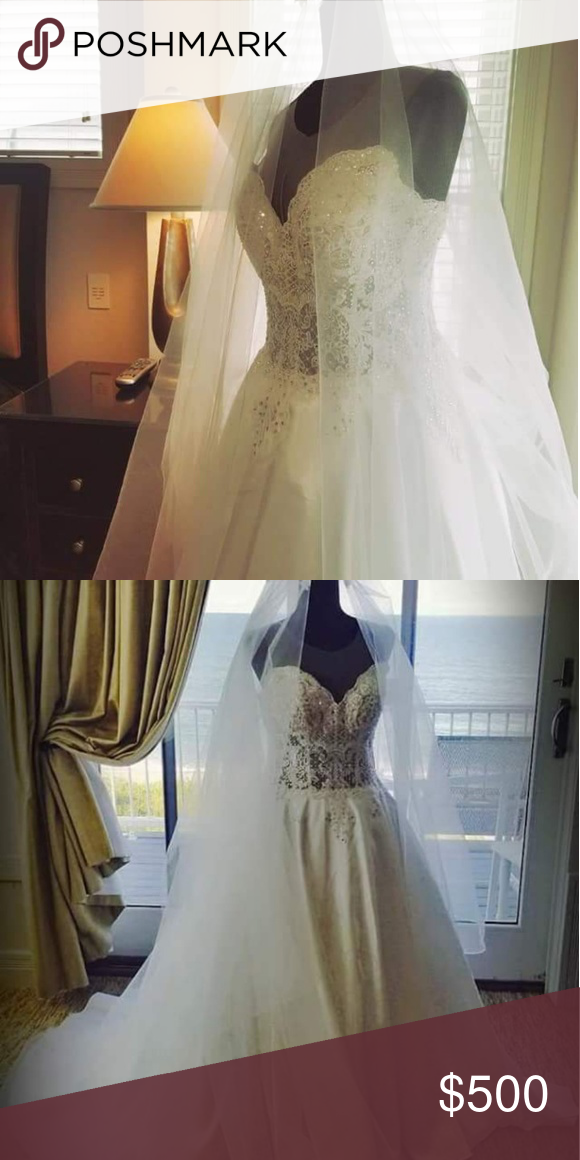 Wedding Gown Wedding Gown used last year of June,